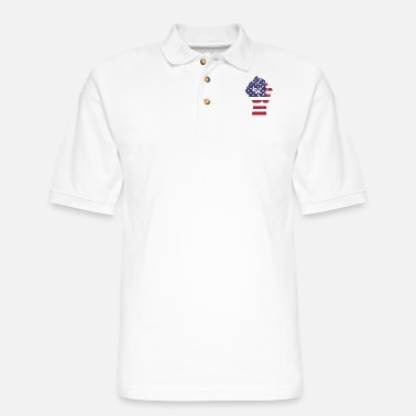 Fist fist - Men's Pique Polo Shirt