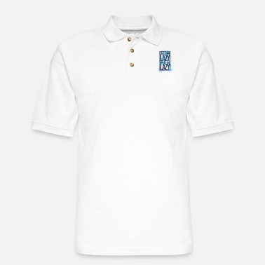 Lazy Too lazy to be lazy - Men's Pique Polo Shirt