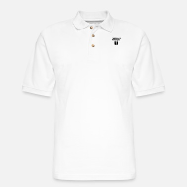 Theology Theology Matters GRAY - Men's Pique Polo Shirt