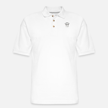 Hello Funny and offensive Hello - Men's Pique Polo Shirt