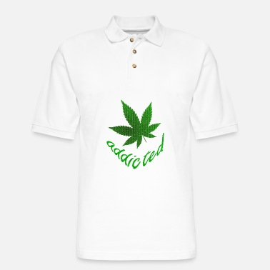Addicted addicted - Men's Pique Polo Shirt