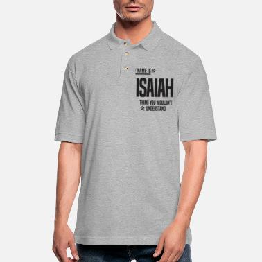 Strange Isaiah - Men's Pique Polo Shirt