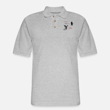 William Shakespeare (Hell is empty) - Men's Pique Polo Shirt