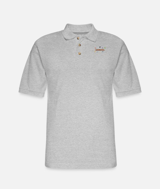 Professor Polo Shirts - School - Men's Pique Polo Shirt heather gray