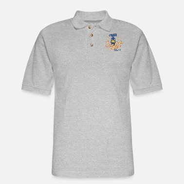 Light Be The Light - Light - Men's Pique Polo Shirt