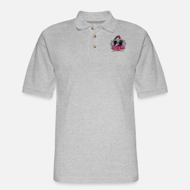 Child Punk Zombie - Men's Pique Polo Shirt