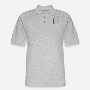 Post Post it - Men's Pique Polo Shirt