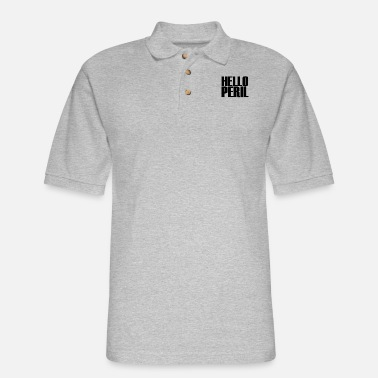 hello peril merch - Men's Pique Polo Shirt