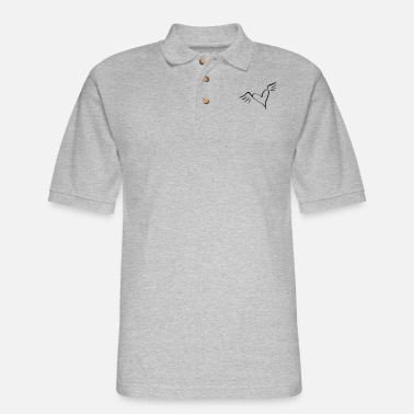 Serce wings - Men's Pique Polo Shirt