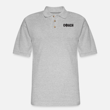 Volley volley coach - Men's Pique Polo Shirt
