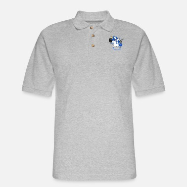 CPC policorn police t shirts - Men's Pique Polo Shirt