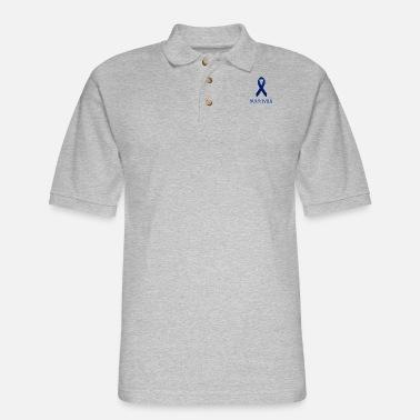 Colon Cancer Survivor Gift Blue Ribbon Colon Cancer Awareness Sticker Spreadshirt
