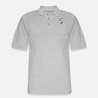 BAD PANDA - Men's Pique Polo Shirt