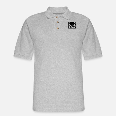 London London London London - Men's Pique Polo Shirt