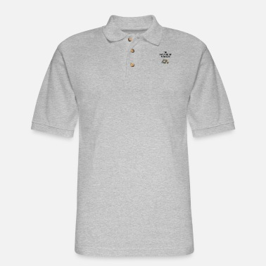 Dude, that camping trip was in tents funny pun - Men's Pique Polo Shirt