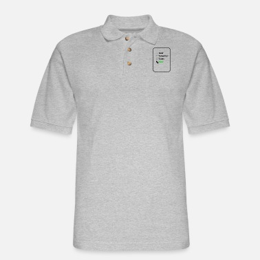 Reminder Now Reminder - Men's Pique Polo Shirt
