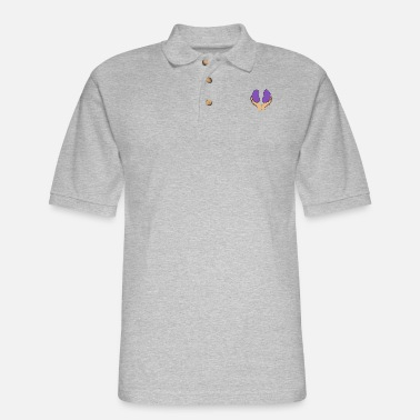 Kidney Warrior Kidney Queen - Men's Pique Polo Shirt