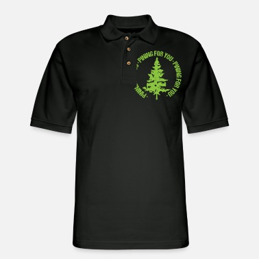 Partner Pining for you Tree Valentines Day - Men's Pique Polo Shirt