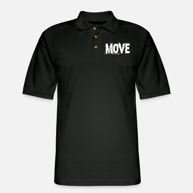Movement Move Movement - Men's Pique Polo Shirt
