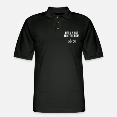 Motivational inspirational motivational quotes sayings for life - Men's Pique Polo Shirt