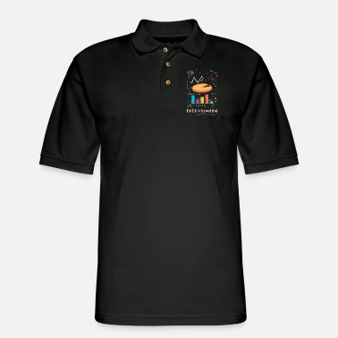 Forecast Data Is Beautiful - Men's Pique Polo Shirt