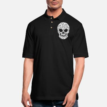 Skull Skull Skulls One and Thousands Skulls - Men's Pique Polo Shirt