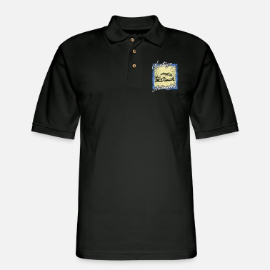 Automobile Vintage Automobile - Men's Pique Polo Shirt