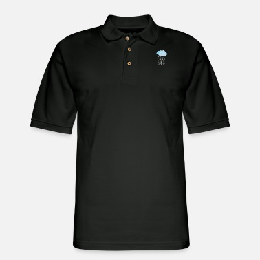 Cloud Computing Cloud computing - Binary cloud - Men's Pique Polo Shirt