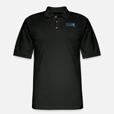 Caucasian Caucasians - Men's Pique Polo Shirt