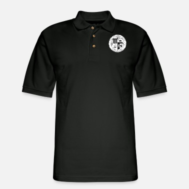 Seal Seal of Los Angeles - Men's Pique Polo Shirt