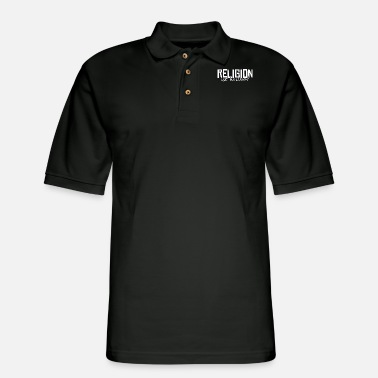 Religion Healing Cool Gift - Men's Pique Polo Shirt