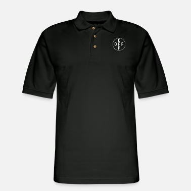 Off OFF FUCK OFF - Men's Pique Polo Shirt