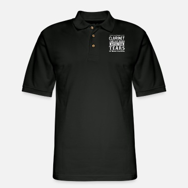 Instrument Clarinet - Men's Pique Polo Shirt