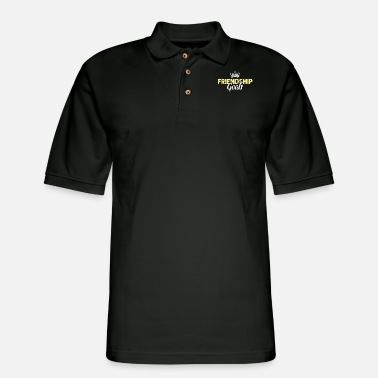 Friendship Friendship goals friendship - Men's Pique Polo Shirt