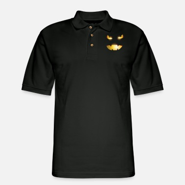 evil pumpkin - Men's Pique Polo Shirt