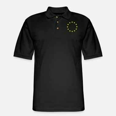 Europe Stars of Europe - Men's Pique Polo Shirt