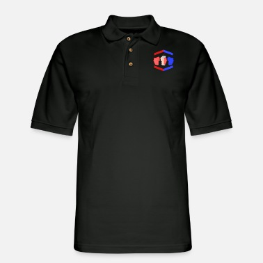 Piece Gamebred Fighter Game Gifts - Men's Pique Polo Shirt
