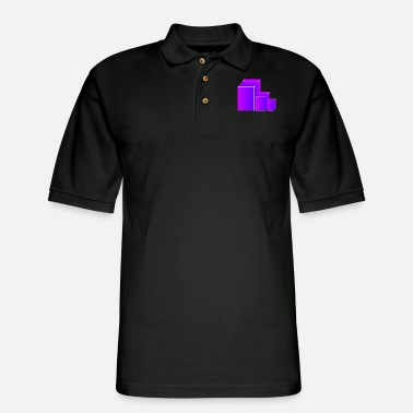 3d 3d - Men's Pique Polo Shirt