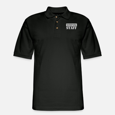 Promiscuous Nymphomaniacs Hospital: Staff - Men's Pique Polo Shirt