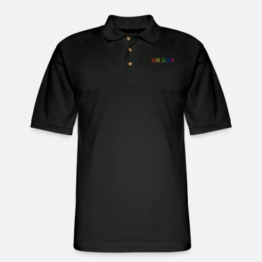 Mouse MICKEY - Men's Pique Polo Shirt