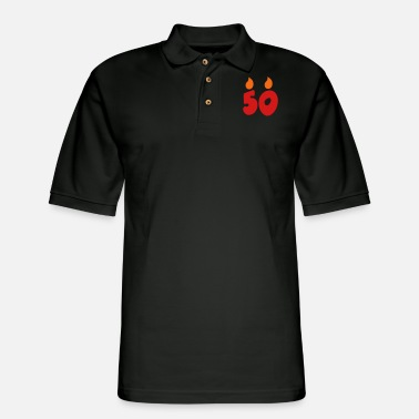 Funny 50th Birthday 50th birthday - Men's Pique Polo Shirt