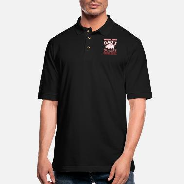 Made In Japan Made In Japan Dads BBQ Sauce Original Recipe - Men's Pique Polo Shirt