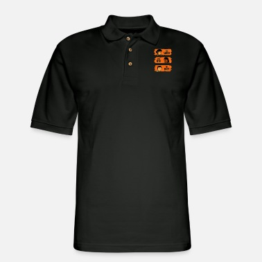 Western captains - Men's Pique Polo Shirt