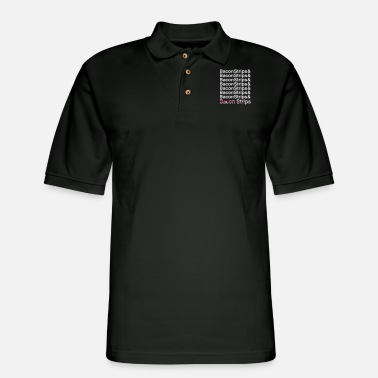 Strip Bacon Strips Bacon Strips - Men's Pique Polo Shirt