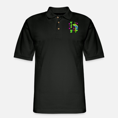 Tree Frog Kiss me. Green tree red-eyed tree frog prince - Men's Pique Polo Shirt