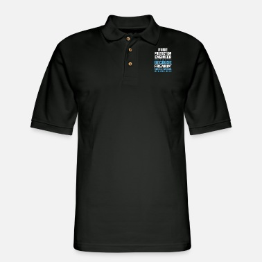 Protection Fire Protection Engineer - Men's Pique Polo Shirt