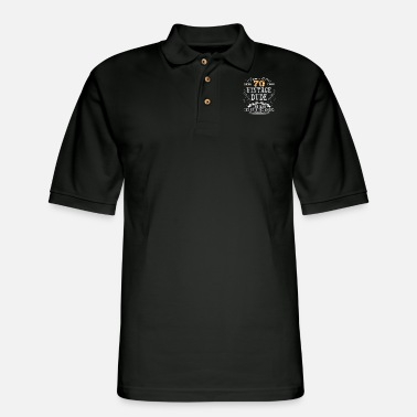 Age VINTAGE DUDE AGED 70 YEARS - Men's Pique Polo Shirt