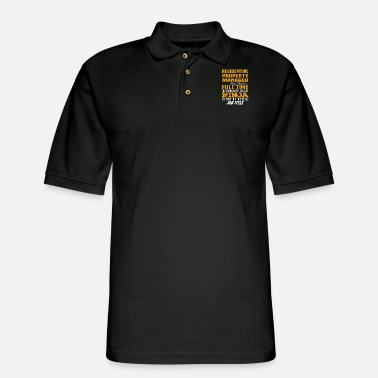 Property Of Residential Property Manager - Men's Pique Polo Shirt