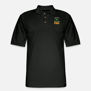 Day Funny St Patrick's Day Let's get Ready To Stumble - Men's Pique Polo Shirt