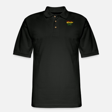 Stache Like a Boss | Funny Vintage Moustache - Men's Pique Polo Shirt
